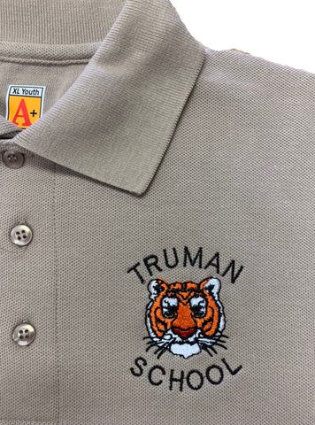 Harry S. Truman Khaki Polo