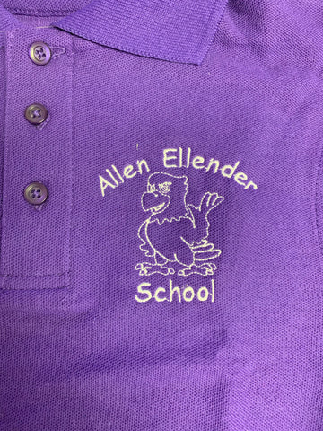 Allen Ellender Purple Polo