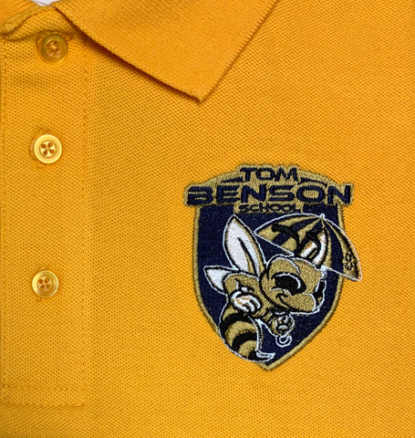 Tom Benson Gold Polo