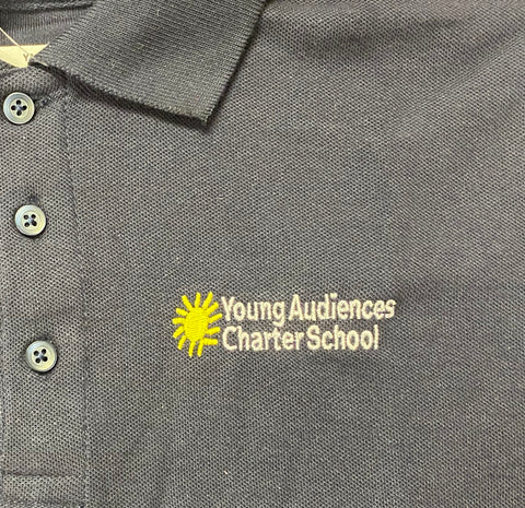 Young Audiences Navy Polo