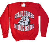 Belle Chasse Middle School Bulldog Crew Sweatshirt