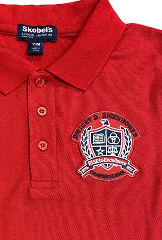 Dwight Eisenhower Red Polo