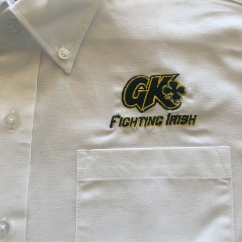Grace King High School Female White Oxford Shirt