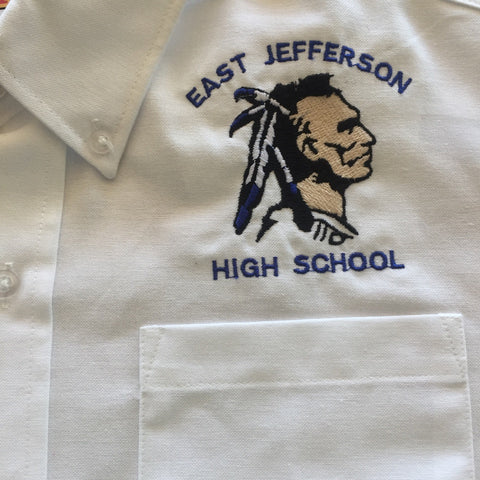East Jefferson White Oxford Shirt