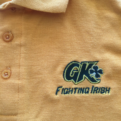 Grace King High School Gold Polo