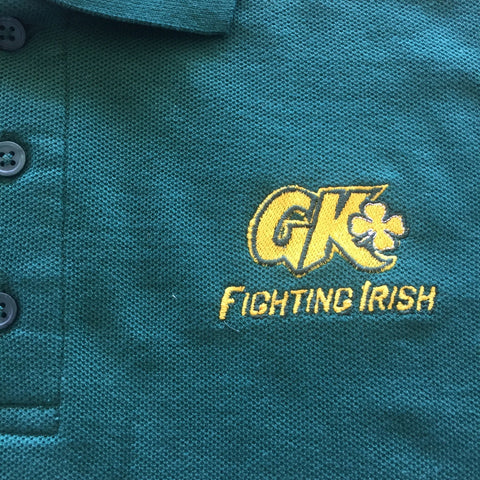 Grace King High School Green Polo