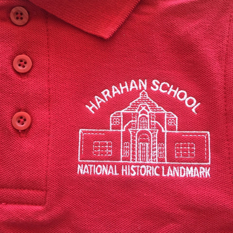 Harahan Elementary School Red Polo