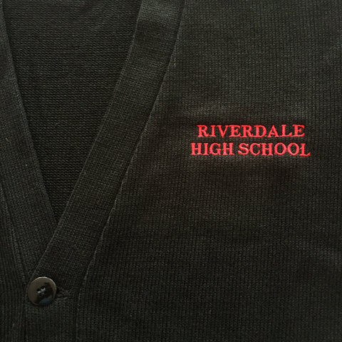 Riverdale High Black Cardigan