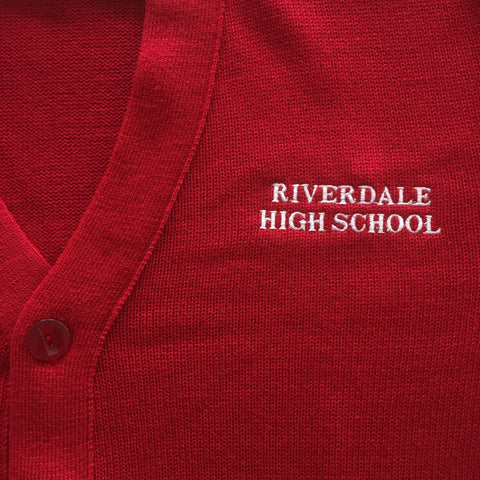 Riverdale High Red Cardigan
