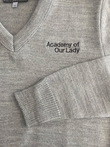 Academy of Our Lady V-neck Sweater