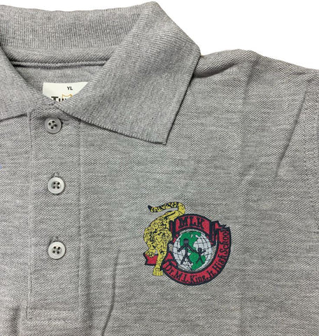 Dr. Martin Luther King Charter High School Grey Polo
