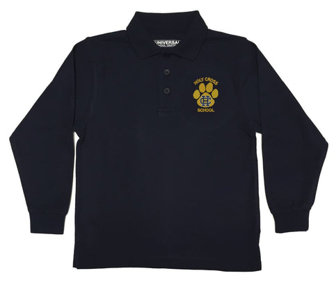 Holy Cross Long Sleeve Polo Shirt
