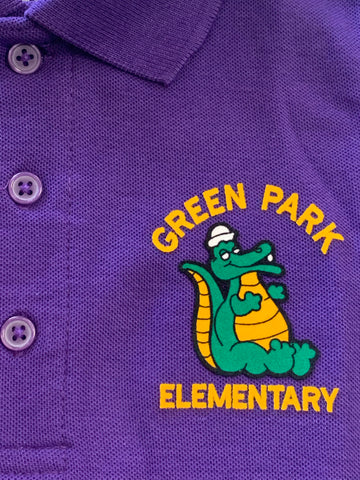 Green Park Purple Polo