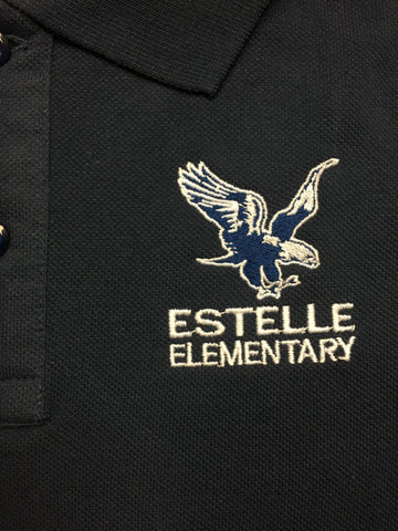 Estelle Elementary Navy Polo