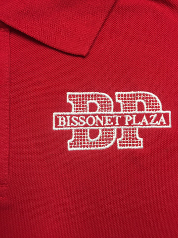 Bissonet Plaza Elementary Red Polo