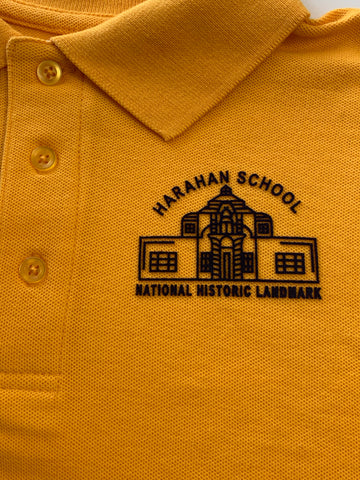 Harahan Elementary School 6th - 8th Grade Gold Polo