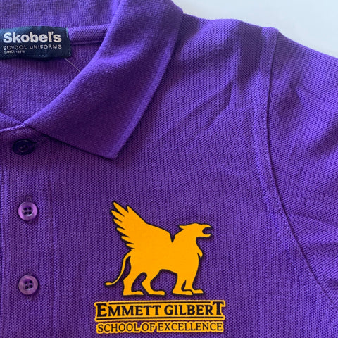 Emmett Gilbert Purple Polo