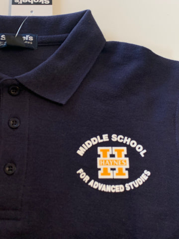 Haynes Academy for Advanced Studies Black Polo