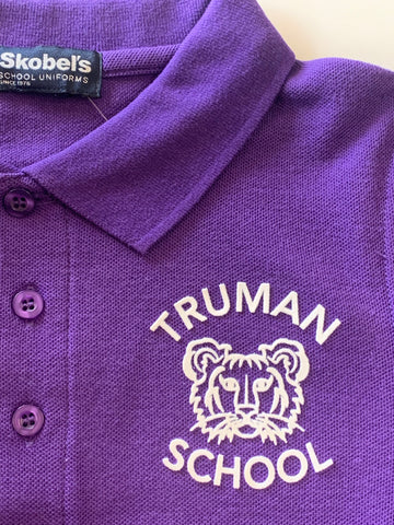 Harry S. Truman Purple Polo