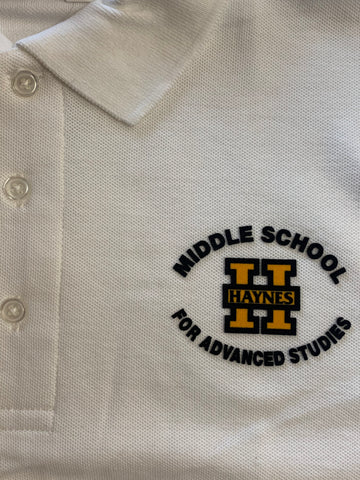 Haynes Academy for Advanced Studies White Polo