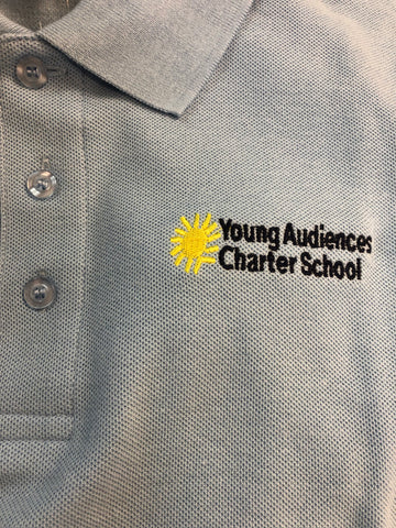 Young Audiences Light Blue Polo