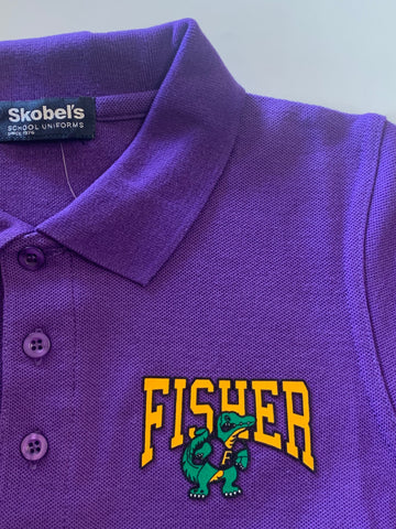 Fisher Middle/High School Purple Polo