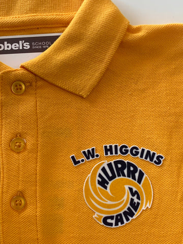 L.W. Higgins Gold Polo