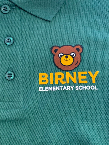 Alice Birney Elementary School Green Polo