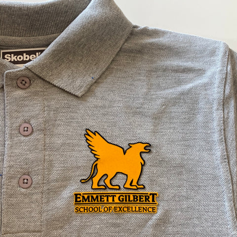 Emmett Gilbert Grey Polo
