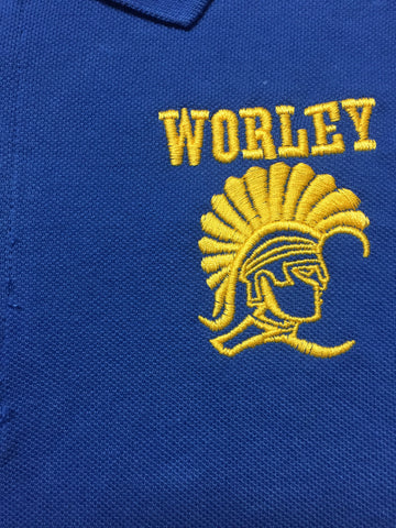 Stella Worley Middle Royal Blue Polo