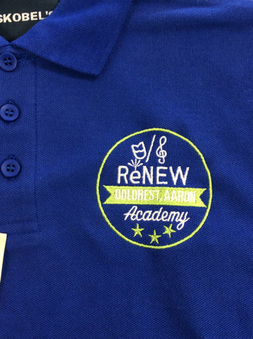 ReNEW Dolores T. Aaron Elementary Royal Blue Polo