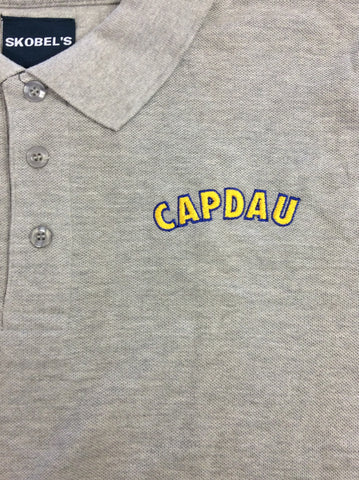 Pierre Capdau Charter School Grey Polo