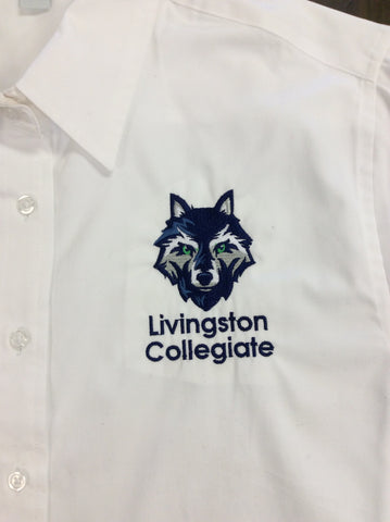 Livingston Collegiate Academy White Oxford