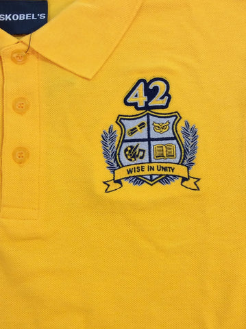 McDonogh 42 Charter School Gold Polo