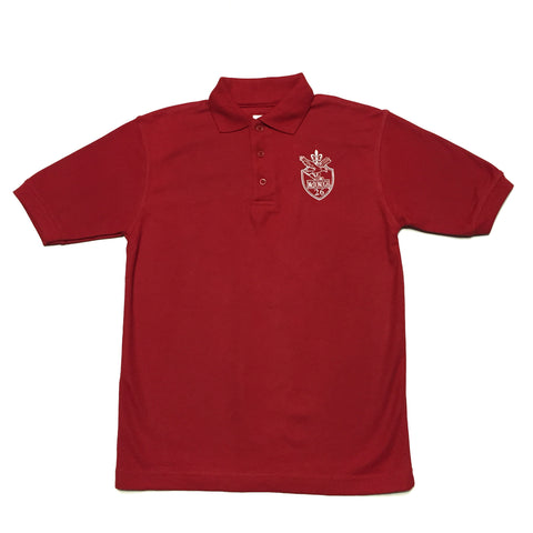 McDonogh 26 Elementary Red Polo