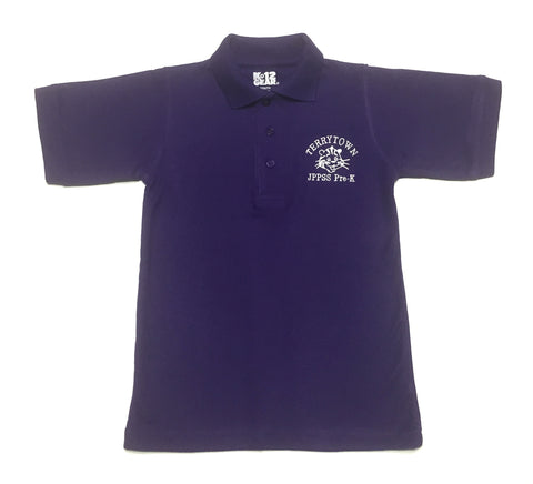 Terrytown Elementary Purple Polo Shirt