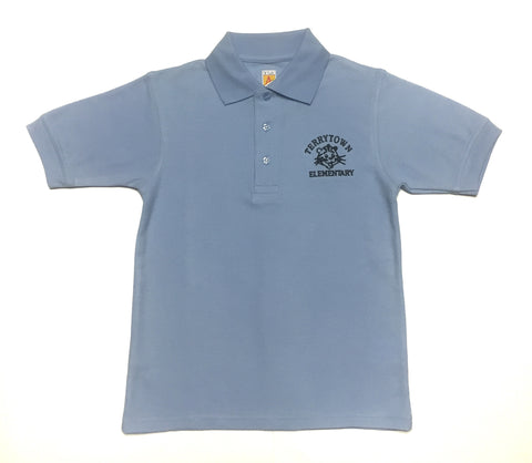 Terrytown Elementary Blue Polo Shirt