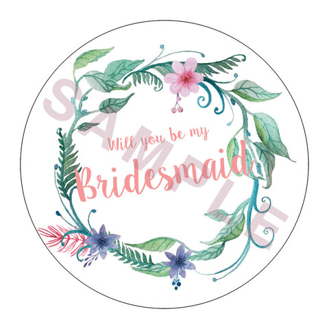 Will you be my Bridesmaid? Whimsical Garden