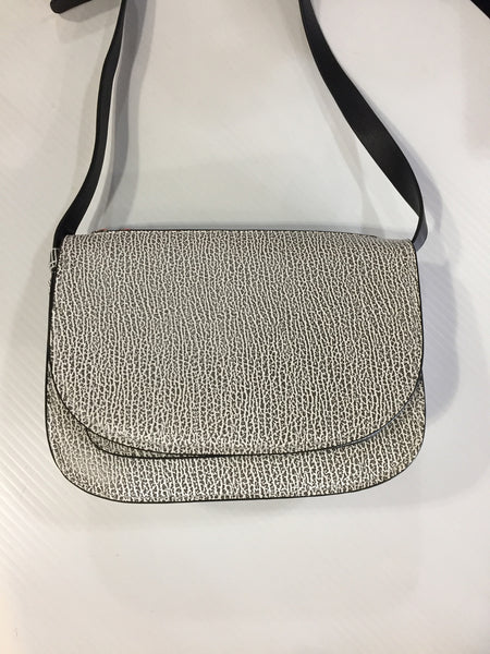 co lab Black and White Crossbody Bag