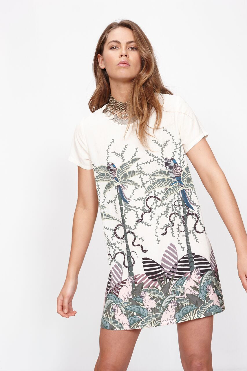 Mink Pink Sumatran Tee Dress