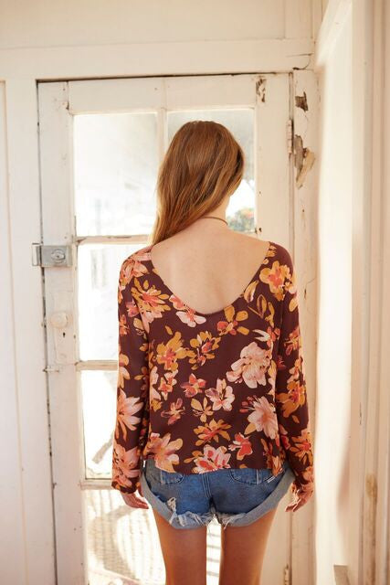 Somedays Lovin She's A Wildflower Top