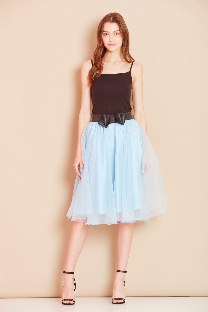 AngelEye Alexie Sky Blue Skirt