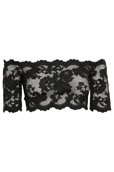 VIXEN LACE CROP TOP