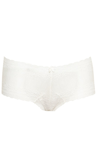 WHITE NEOTERIC BOY SHORTS