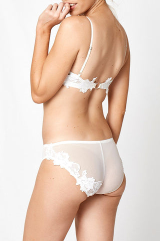RAW IVORY 2.0 ITALIAN TULLE BRIEF