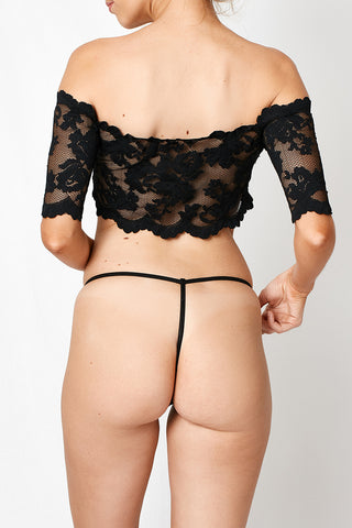 VIXEN LACE G STRING