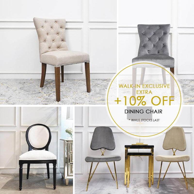 GSS DINING CHAIRS SALE ~  TAKE EXTRA 10%