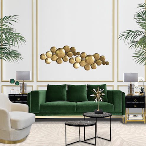 THE EMERALD GREEN LIVING ROOM
