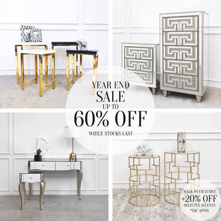 Accent End Tables Sale: Walk-in Extra +20% Off!