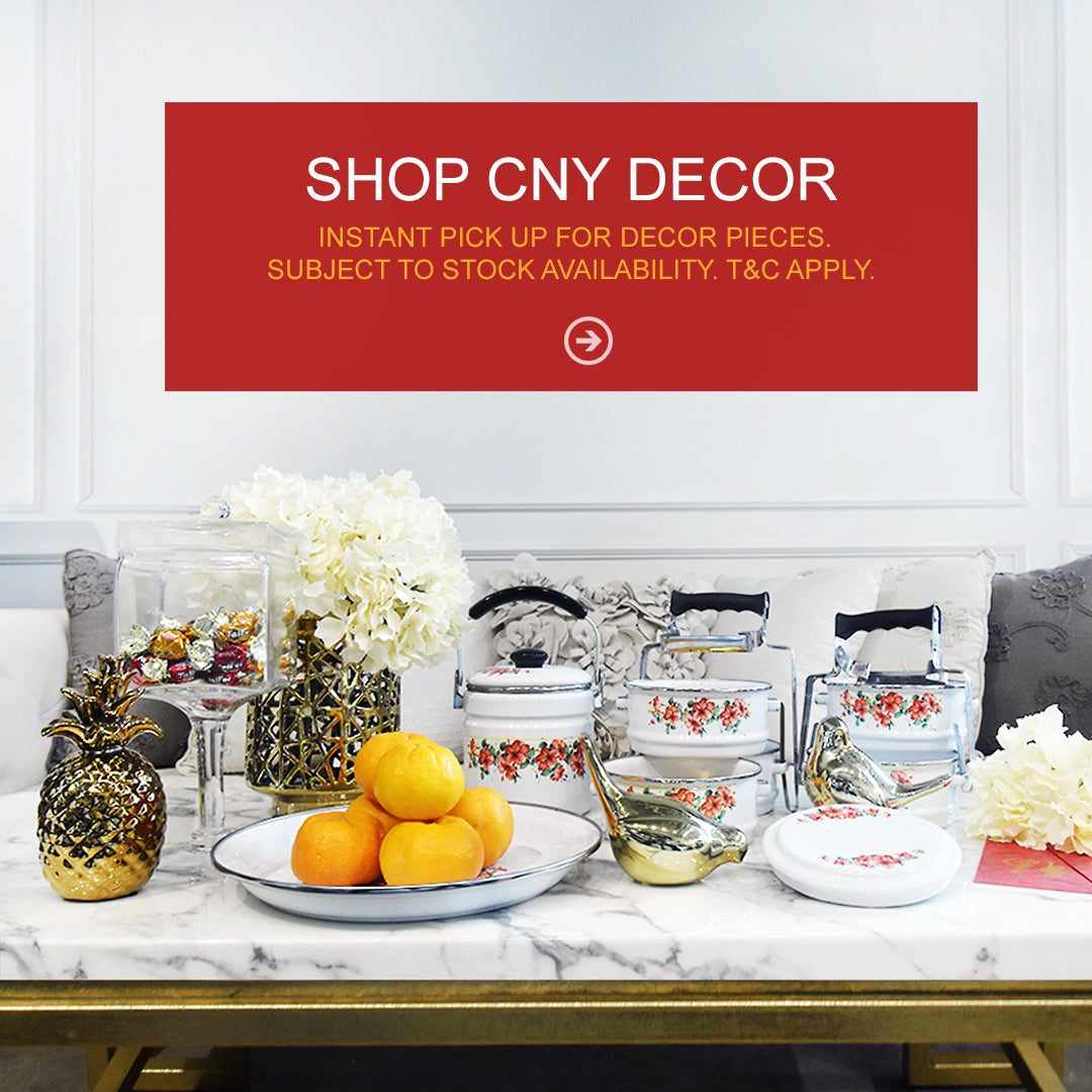 Chinese New Year CNY Sale 2018 in Singapore Online Home Decor Store and showroom